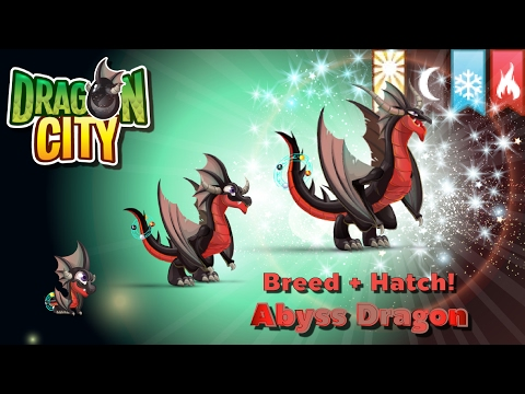 [Dragon City] ผสม + ฟักไข่มังกรแห่งขุมนรก 4 ธาตุ Breed + Hatch Abyss Dragon   amSiNE