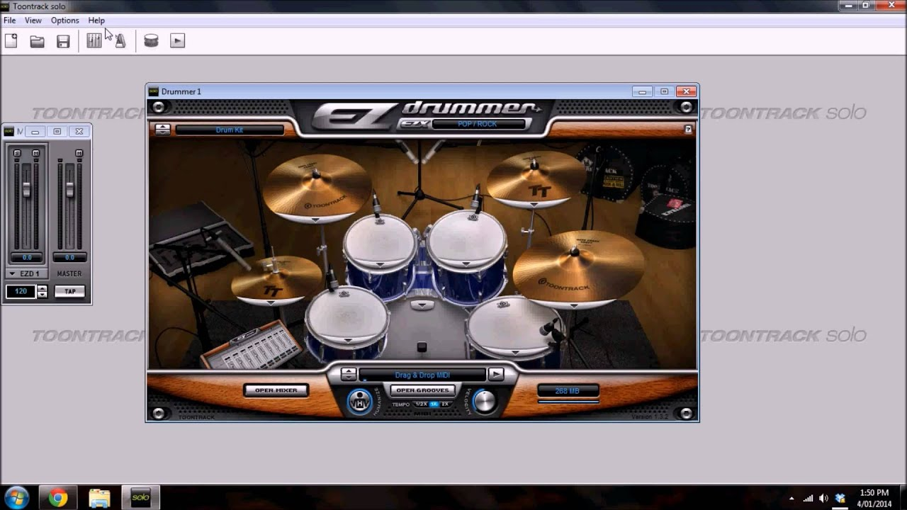 Tutorial for Setting Up EZDrummer for Low Latency Live Playing with