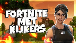 SPELEN MET KIJKERS IN FORTNITE BATTLE ROYALE ROAD TO 8K -SKYVINNY