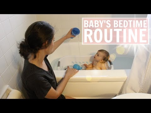 Baby Night Time Routine | Bedtime Routine