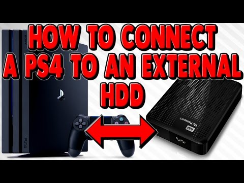 How to connect an External Hard Drive to PS4 - How to turn on Boost Mode PS4 Pro Update 4.50
