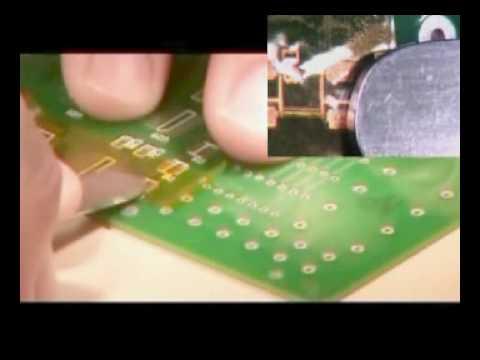 PCB Pad Repair Dry Film Version