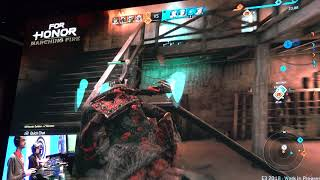 For Honor: Marching Fire Gameplay E3 2018   TSC Gaming