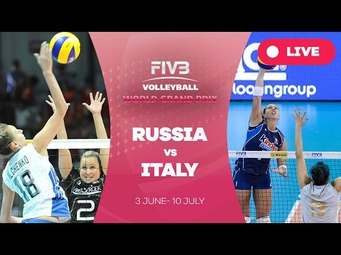 Russia v Italy - Group 1: 2016 FIVB Volleyball World Grand Prix