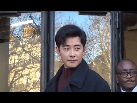 Luo Jin 罗晋 @ Paris Fashion Week January 19, 2018 show Cerruti #PFW / janvier