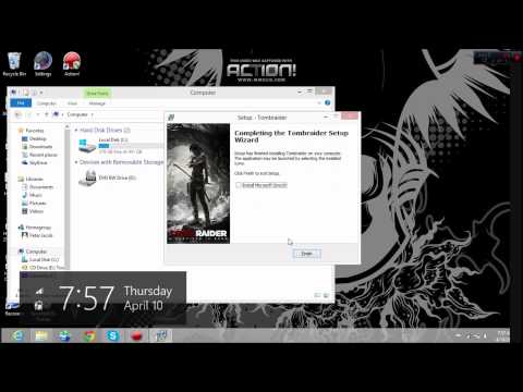 How download and install Tomb Raider 2013