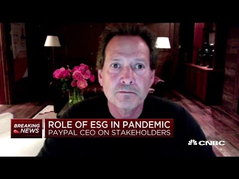PayPal CEO On Earnings, Online Spending Trends During Pandemic And More