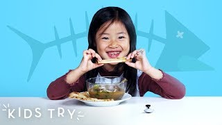 Kids Try Bones from Around the World | Kids Try | HiHo Kids