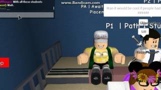 MY FIRST DAY A KEYSTONE MIDDLE SCHOOL - ROBLOX