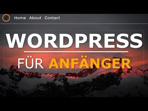 WordPress Tutorial German/Deutsch für Anfänger | Anleitung 2019