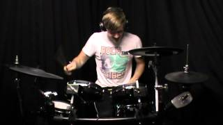 Joey Wojcik: K'naan ft. Nelly Furtado - Anybody out there DRUM COVER (DRUMEO)