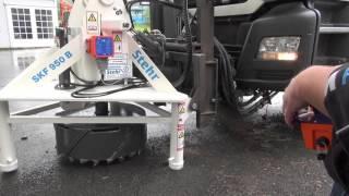 Kanaldeckelfräse -  Professionelle Deckensanierung im Straßenbau