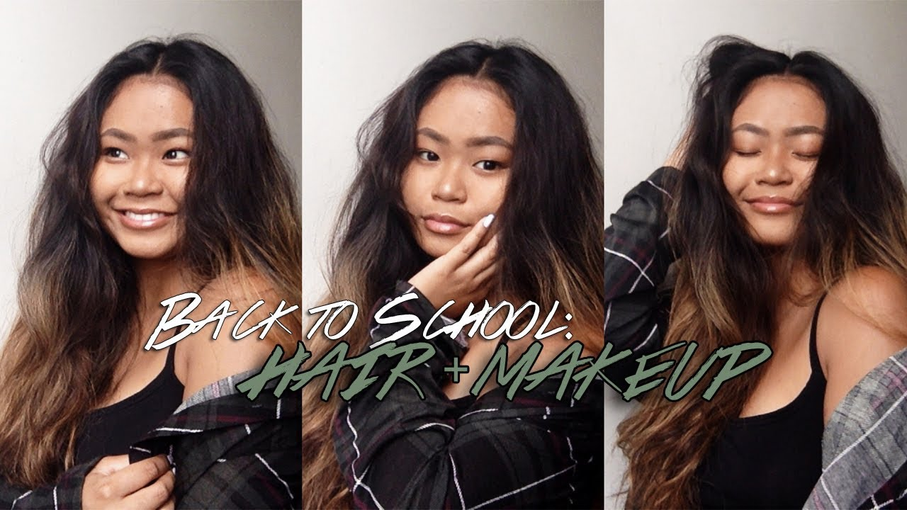 Back to School: Hair + Makeup Tutorial