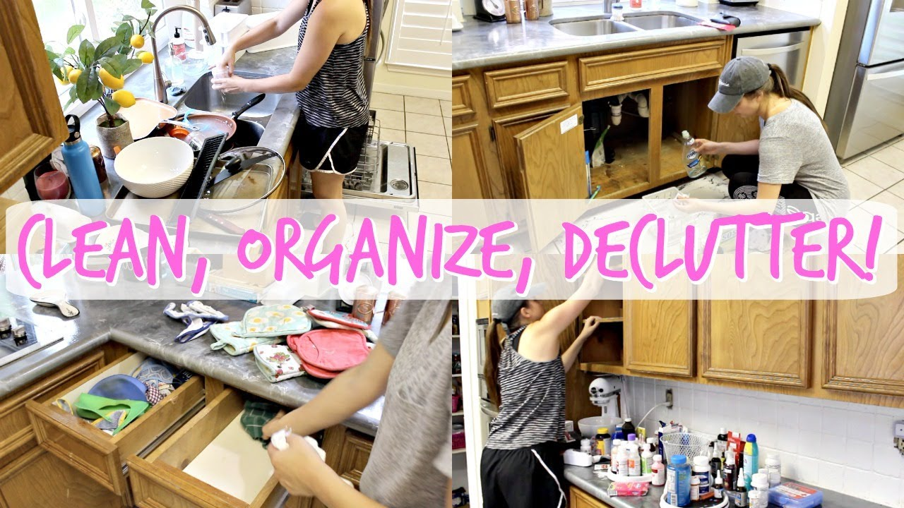 *MASSIVE* CLEAN + ORGANIZE + DECLUTTER WITH ME! EXTREME CLEANING MOTIVATION! ACTUALLY MESSY HOUSE!