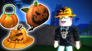 ROBLOX EVENT: HOW TO GET THE PUMPKIN ITEMS IN HALLOW'S EVE!