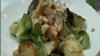 Tasmanian Salmon Salad & A Spicy Honey Dressing
