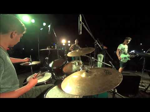 """The Subways """"Rock & Roll Queen"""" - Live Drum Cover"""