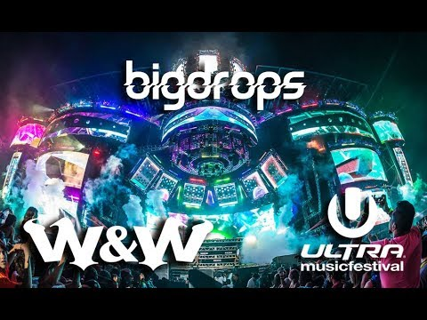 W&W Drops Only live @Ultra Music Festival, Miami 2015