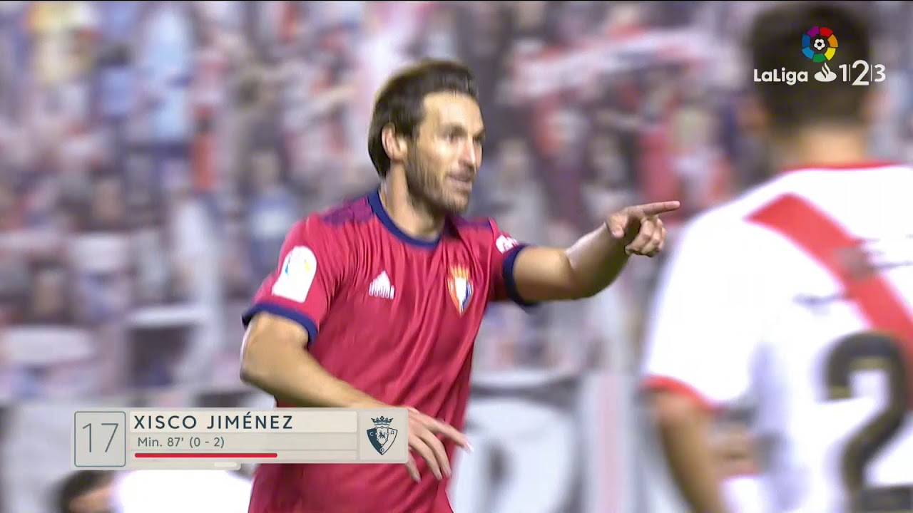 Rayo Vallecano 0 - 3 Osasuna