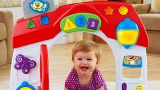 Smart Stages Home / Edukacyjny Domek Malucha - Laugh & Learn - Fisher-Price - MegaDyskont.pl