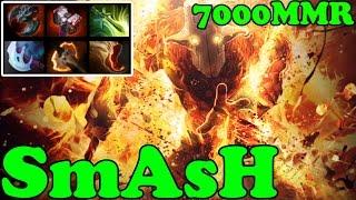 Dota 2 - SmAsH 7000 MMR Plays Juggernaut - Pub Match Gameplay