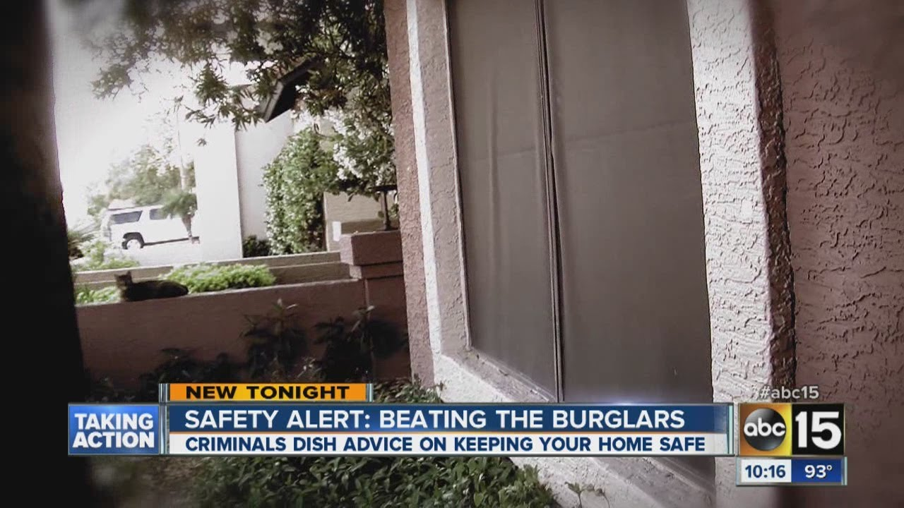 Home burglars talk about how they choose targets