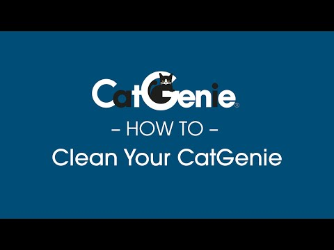 cleaning the catgenie 120