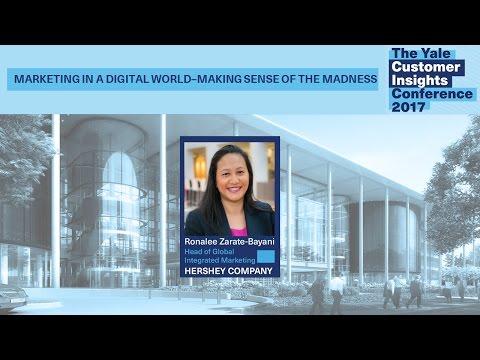 Ronalee Zarate-Bayani, The Hershey Company: Marketing in a Digital World-Making Sense of the Madness