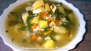 Зеленый Суп по Украински Рецепт Супа с Крапивой, Щавелем и Яйцом.