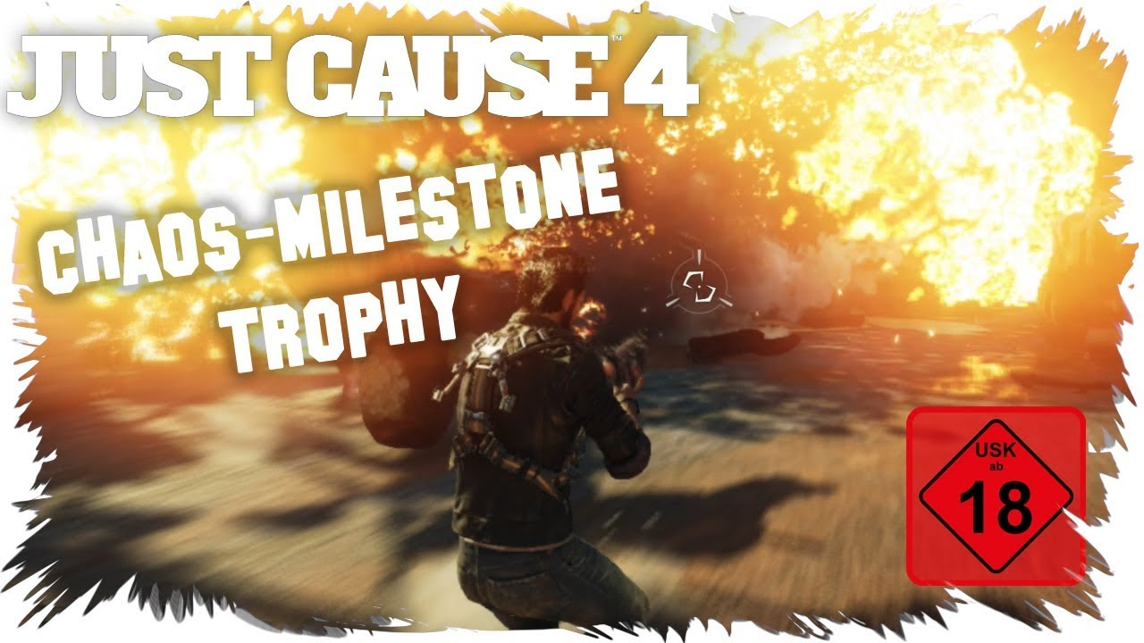 Just Cause 4 Chaos Milestone Trophy Achievement Guide Chaos