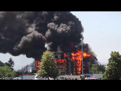 Waters Edge luxury development lost to massive fire