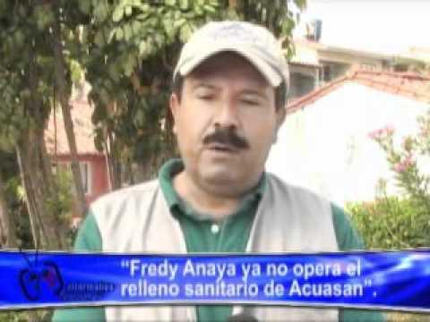 FREDY ANAYA YA NO OPERA EL RELLENO SANITARIO DE AC...