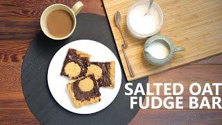 Salted Oat Fudge Bar