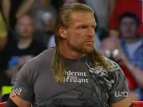 Triple H and John Cena Confrontation