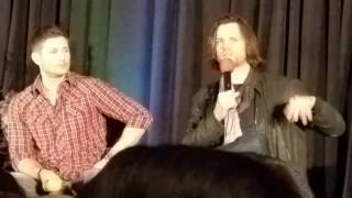 Jared and Jensen on seeing Misha for the first time