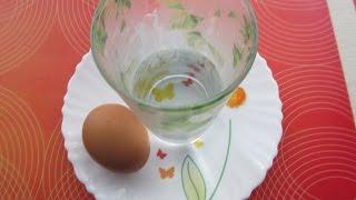 Как сварить яйцо в микроволновке всего за 1 минуту!