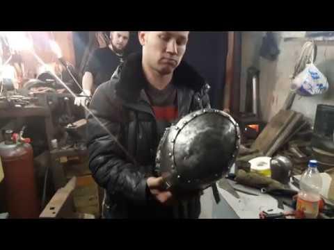 Краш-тест шлема из титана