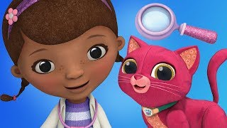 Fun Animal Care Games - Doc McStuffins Pet Animal Toy Makeover Disney Games For Kids & Girls
