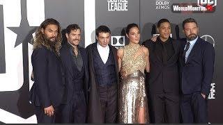 Justice League LA film premiere - Ben Affleck, Jason Momoa, Gal Gadot