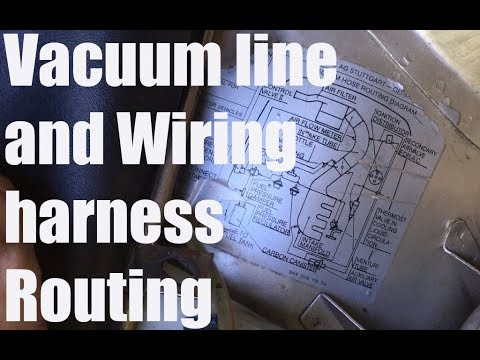 Early Porsche 944 Vacuum Line Routing