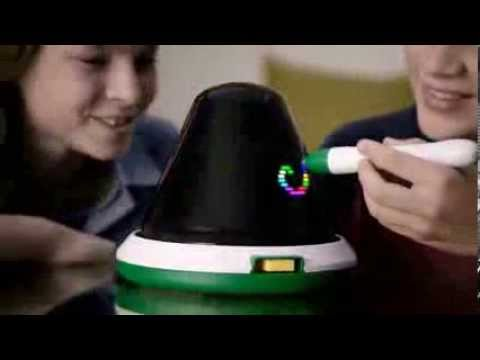 TV Commercial - Crayola  - Digital Light Designer - Unwrap Imagination