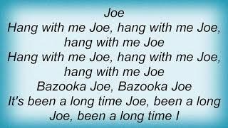 Big Black - Bazooka Joe Lyrics