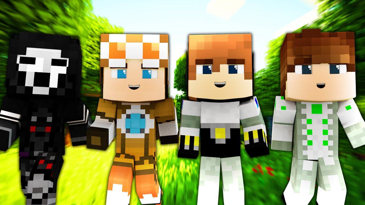 Super Hero Minecraft Skins
