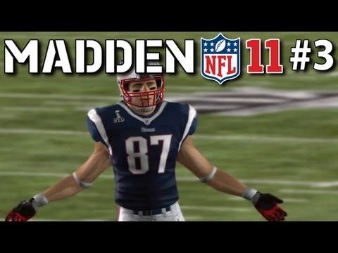 Patriots vs Giants SUPER BOWL XLVI, Virtual Rematch -- Madden NFL #3