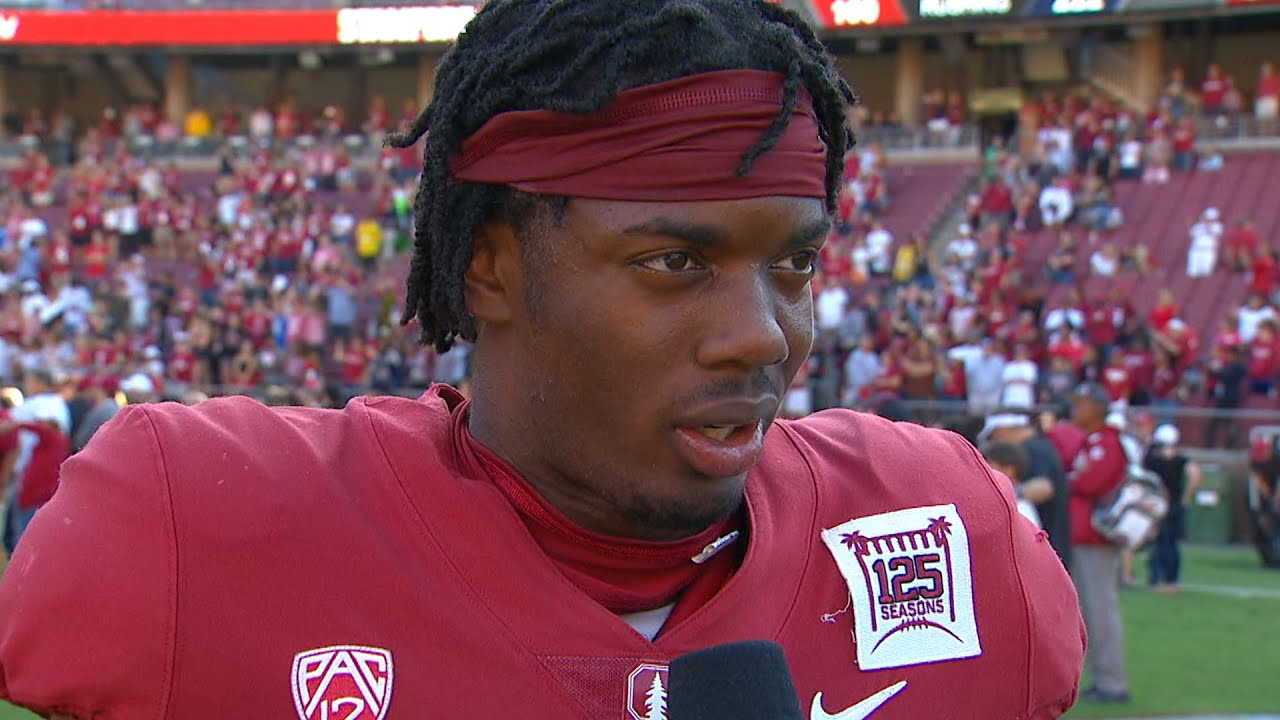 Paulson Adebo talks work ethic, Stanford's consistency on defense