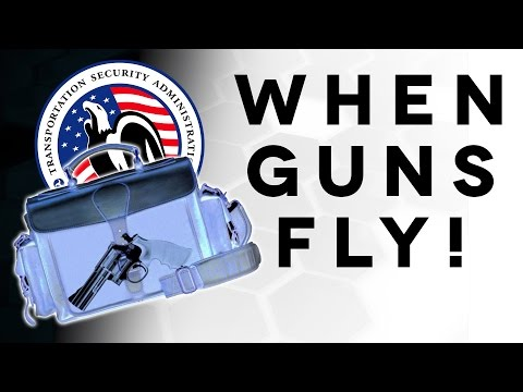 Can you fly with guns? - The Legal Brief!