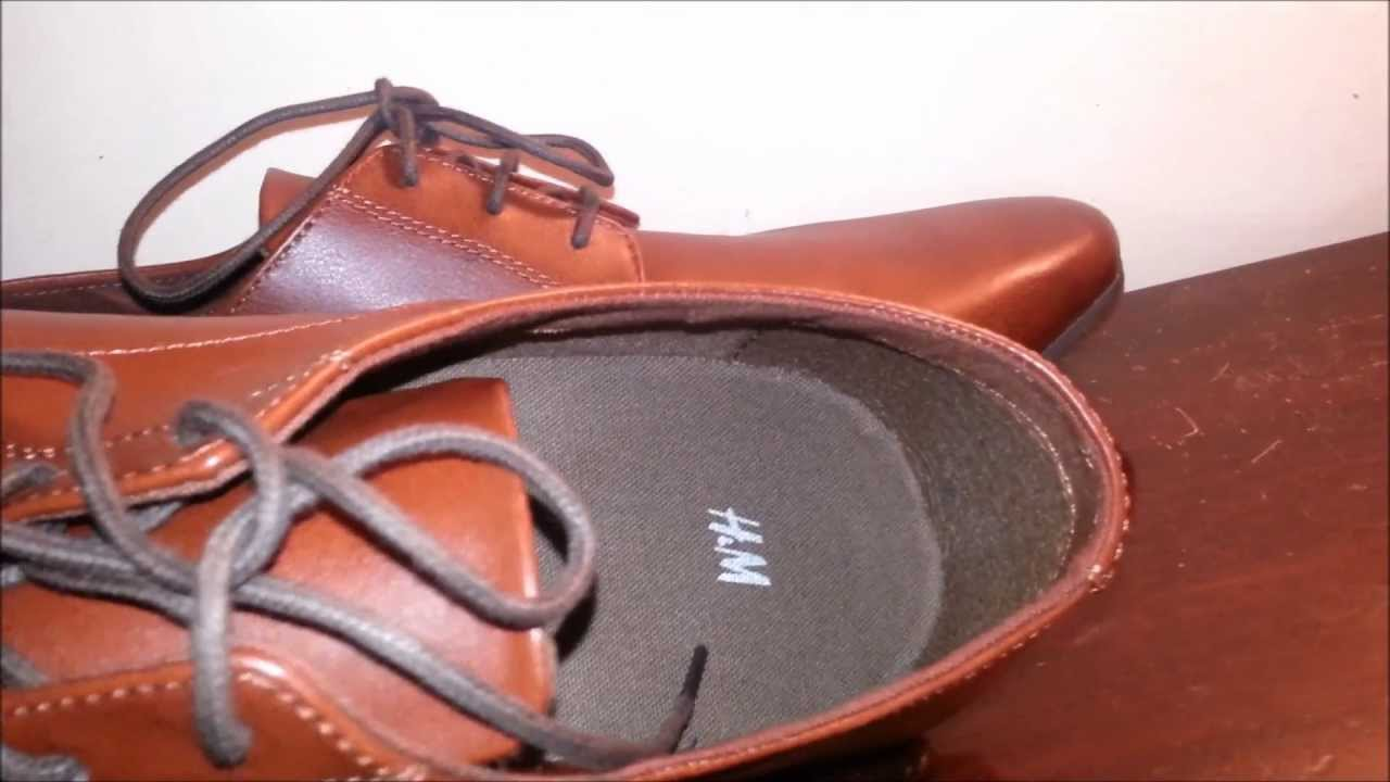 h m dress leather shoes review