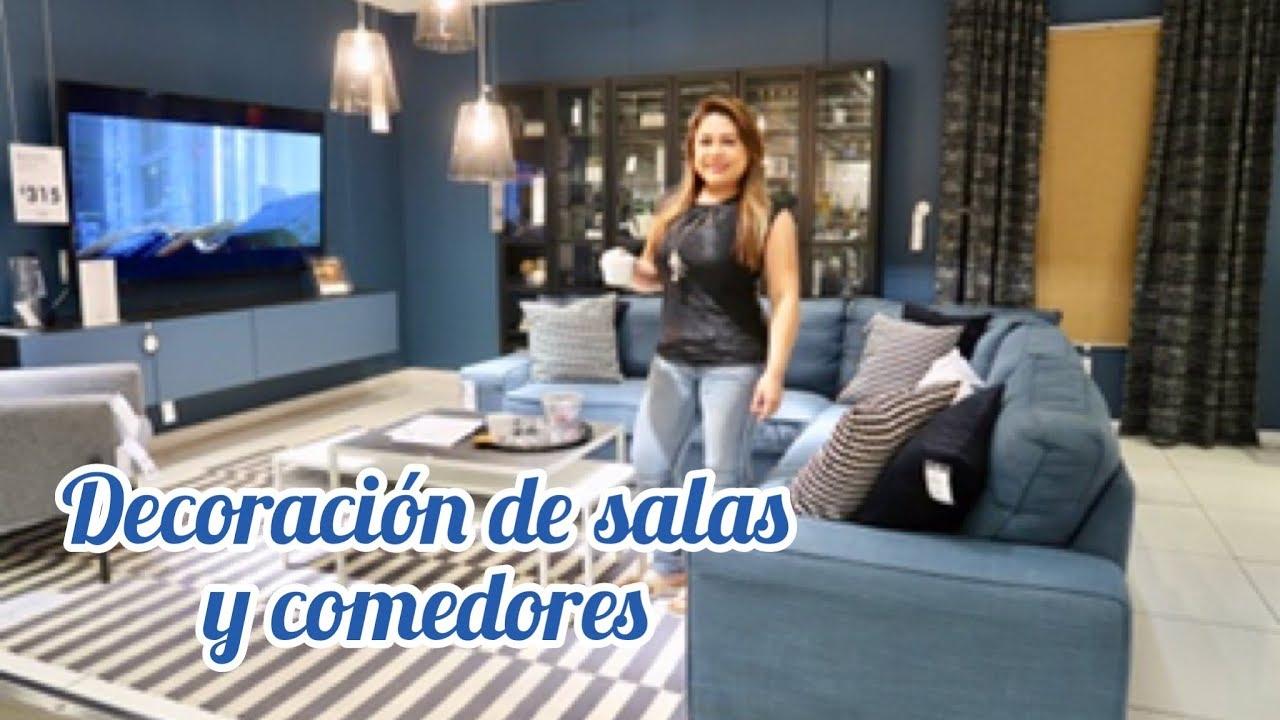 TENDENCIAS EN DECORACIONES || SALAS, COMEDORES Y COCINAS 2019 #SAVVYSANDY  #IKEA