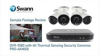 Swann 8MP SODVK-455802D2FB 4K 1TB 2x 4KMSD & 2x 4KMSFB True Detect video