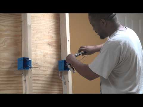How to install an outlet part 2